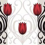 Mank Annika red black 40x40cm, 50ks/ba