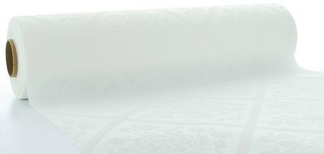 Mank Damast white šerpa 0,4x24m