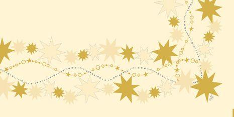 duni Dancing star crean obrus 84x84cm