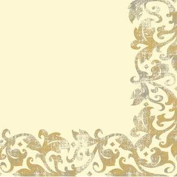 Duni Festiva cream dunisoft 40x40cm, 60ks/ba