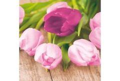 Duni Easter tulip papierové servítky 33 x 33 cm, 3-vrst, 20 ks / ba