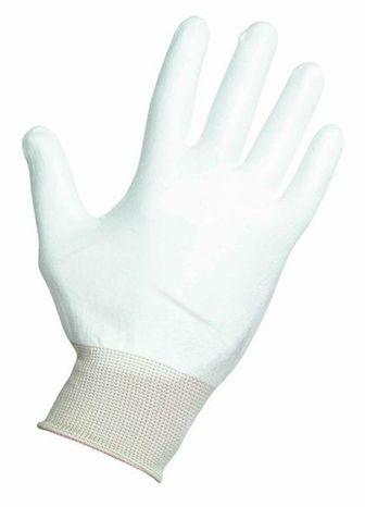 ESD rukavice biele Palm Fit L