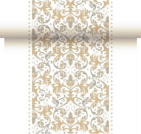 Duni Festiva white šerpa 0,40 x 24 m