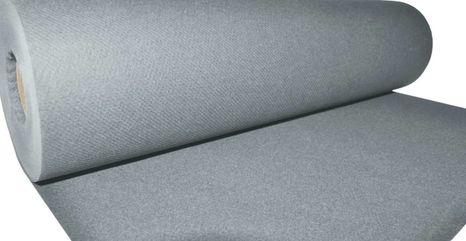Mank Jednofarebná šerpa strieborná 0,4x24m