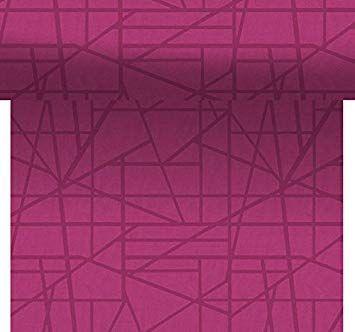 Duni Maze fuchsia 0,4x24m