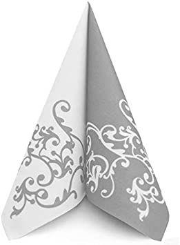 Mank Pomp silver-white 40x40cm, 50ks/ba