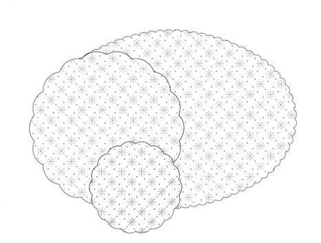 Rozetky biele pr. 90 mm, 7-vrst.,1000 ks / ba