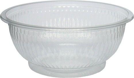 Šalátová miska priehľadná 610 ml, 50 ks / ba (OPS)