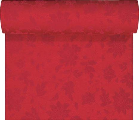 Duni Tete-a-Tete šerpa Sensia bordová 0,45 x 24 m