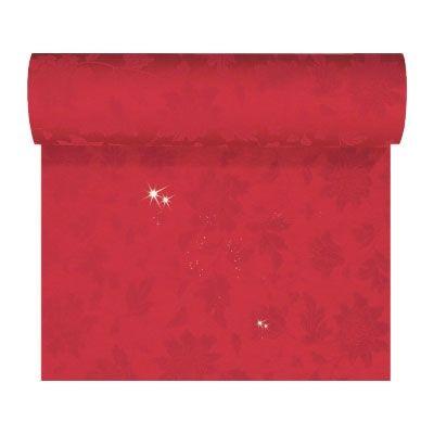 Duni Tete-a-Tete šerpa Sensia brilliance červená 0,45 x 24 m